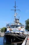 Ship-restoran Royalty Free Stock Images