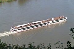 Ship on the Rhine Royalty Free Stock Photo