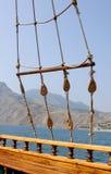 Ship rigging royalty free stock photos