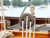Ship rigging Royalty Free Stock Image