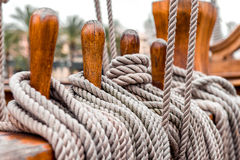 Ship rigging Stock Photos
