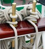 Ship rigging Royalty Free Stock Image