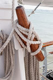 Ship rigging Stock Images
