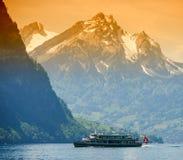 Ship river Royalty Free Stock Image