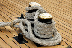 Ship rope Stock Photo