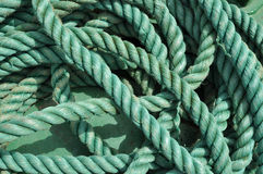 Ship rope. Rope of the cruise ship royalty free stock image