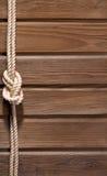 Ship rope. Royalty Free Stock Photo