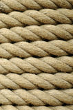 Ship rope background Royalty Free Stock Photography