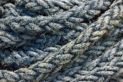 Ship rope background Royalty Free Stock Images