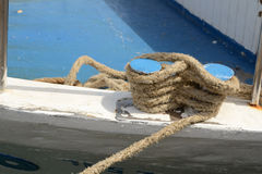 Ship rope Royalty Free Stock Photo