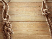 Ship ropes Stock Photography
