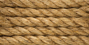 Ship ropes as backgroun Stock Images