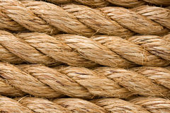 Ship ropes as background Stock Image