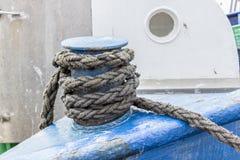 Ship ropes Royalty Free Stock Photography