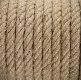 Ship ropes sack as background Royalty Free Stock Photo