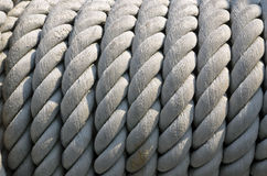 Ship ropes sack. As background texture Royalty Free Stock Photo