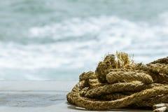 Ship ropes Royalty Free Stock Photo