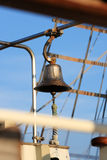 Bell on old sailing ship Royalty Free Stock Photo