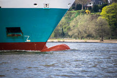 A ship's bow Stock Photo