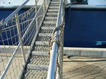 Ship's bridge. Bridge off the ship Royalty Free Stock Photos