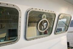 Ship's cockpit Royalty Free Stock Photo