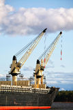 Ship's Cranes Royalty Free Stock Image