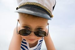 Ship's little boy Stock Image