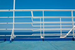 Ship`s manifold by the Sea Royalty Free Stock Photography
