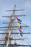 Ship's masts Stock Photography