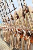 Ship's masts Stock Photo