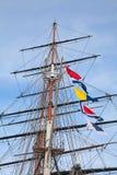 Ship's masts Royalty Free Stock Photo