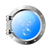 Ship's porthole Royalty Free Stock Photos