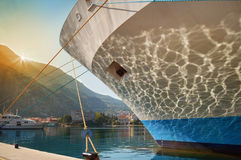 Ship's prow Stock Images