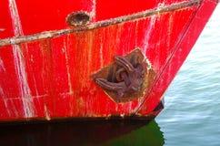 ship& x27; s strona, szczegół Obraz Stock