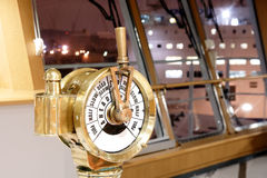 Ship S Telegraph Stock Image