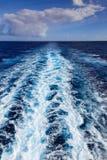 A Ship's Wake Royalty Free Stock Photography