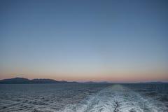 Ship's Wake Stock Photos