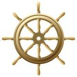 Ship's wheel stock illustration