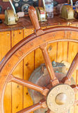 Ship's wheel. Royalty Free Stock Photo