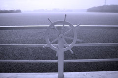 Ship's wheel Stock Image