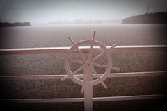 Ship's wheel Royalty Free Stock Images