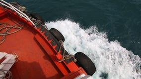 Ship Sail On Sea stock video
