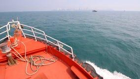 Ship Sail On Sea stock video footage