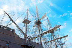 Ship sailing Royalty Free Stock Photo