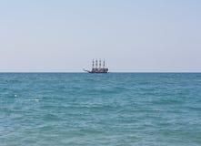 The ship sails at sea photo Stock Image
