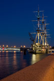 Ship in Saint Petersburg Stock Photos