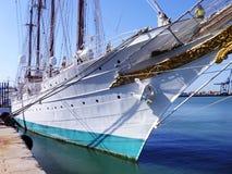 Ship school Juan Sebastian de Elcano in Cadiz Stock Photo