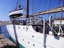 Ship school Juan Sebastian de Elcano in Cadiz Royalty Free Stock Photography