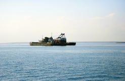 Ship on sea Royalty Free Stock Image