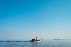 Ship on the sea Royalty Free Stock Photo